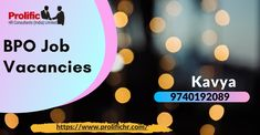 Voice and Non Voice Process Jobs in Bangalore. Jobs Hiring