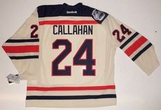 Ryan Callahan New York Rangers Reebok Premier 7185 Winter Classic Jersey 2012 - Medium by Sports Memorabilia. $433.49. Makes a Great Gift!. RYAN CALLAHAN NEW YORK RANGERS REEBOK PREMIER 7185 WINTER CLASSIC JERSEY 2012Custom Made-to-Order Jersey. Not eligible for return or exchange.Every signed item comes fully certified with a tamper proof hologram certificate of authenticity and is backed by the SportsMemorabilia Authenticity Guarantee.