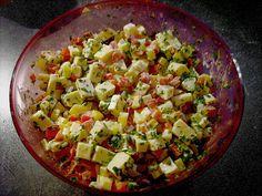 Paprika Gouda Salat