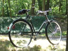 My 1973 Raleigh DL-1 Gent's Tourist, sold to me on eBay by a gentleman in Cleveland Ohio who saved it from the garbage truck.