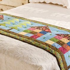 Pattern Freebies: GO! Row House Bed Runner Pattern | National Quilters Circle http://www.nationalquilterscircle.com/article/pattern-freebies-go-row-house-bed-runner-pattern/?utm_content=bufferb6927&utm_medium=social&utm_source=pinterest.com&utm_campaign=buffer #LetsQuilt
