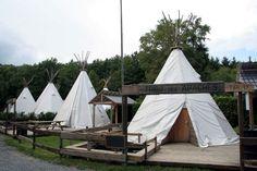 Dormir dans un village indien - Durbuy Adventure
