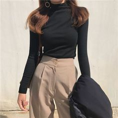 winter outfits korean korean fashion aesthetic outfits soft kfashion ulzzang girl casual clothes grunge minimalistic cute kawaii comfy formal everyday street spring summer autumn winter g e o r g i a n a : c l o t h e s Vintage Outfits, Classy Outfits, Casual Outfits, Casual Clothes, Sweater Outfits, Stylish Clothes, Mode Outfits, Korean Outfits, Fashion Outfits