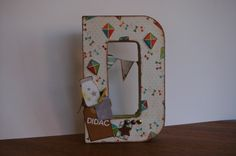 letters handmade scrapbooking inspiration