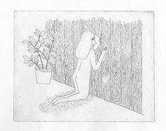 Charline Giquel - Etching -  http://charlinegiquel.tumblr.com