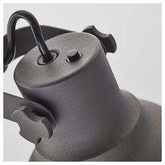 IKEA - HEKTAR Work lamp with wireless charging dark gray