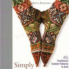 Simply Socks by Anna Zilboorg Crochet Socks, Knitting Socks, Knit Crochet, Turkish Pattern, Patterned Socks, Boot Cuffs, Leg Warmers, Knitting Patterns, Stockings