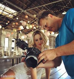 #LukasiakChloe behind the scenes of her photoshoot with just for kix