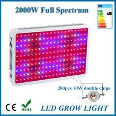 Led 빛 1000 와트 2000 와트 600 와트 300 와트 1200 와트 더블 칩 fitolampa led 성장 빛 전체 스펙트럼 수족관 24 와트 성장 빛
