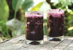 Please Note: Green Tea Blueberry Smoothies