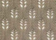 Espiguillas patrón tracería simples http://azhurnye-uzory.ru/azhurny-e-uzory-spitsami/prosty-e-azhury/prostoj-azhurny-j-uzor-koloski