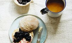 Swedish breakfasts: A traditional start to a Swedish day can be found in freshly baked rolls, scone-muffins with fruit curd, and an autumnal granola, courtesy of new book Lagom Scandinavian Books, Book Extracts, Baked Rolls, Sunday Brunch, Freshly Baked, Granola, Food Inspiration, Sweet Recipes, Sour Cherry