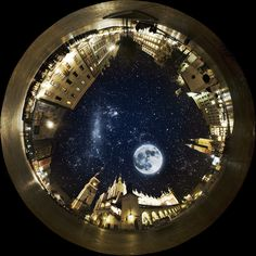 laureola: It was a warm night, with a starry sky. by pl_jakub (via corywest, loragrl, thewordsalloverme) 360 Degree Photography, Art Photography, Stunning Photography, Travel Photography, Sun Moon Stars, To Infinity And Beyond, Favim, Moon Art, Moon Moon