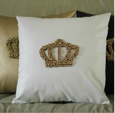 327 # 2012 new arrival reversible PU single handmade gold bead Smirnoff luxury cushion cover pillow case wholesale min 2pcs-in Cushion from Home & Garden on Aliexpress.com | Alibaba Group