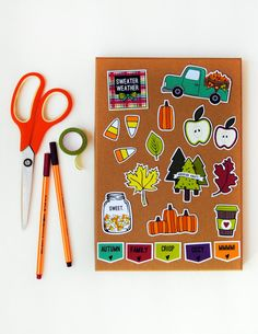 Autumn Harvest Die Cut Pack