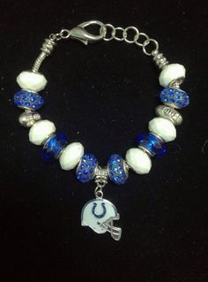 Indianapolis Colts Bracelet on Etsy, $35.00 Nfl Team Team Spirit Nfl jewelry Football Football Jewelry Logo Mascot Indy