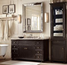 Eclectic Mirrors Restoration Hardware