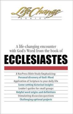 ecclesiastes analysis Using sociological analysis  brueggemann concluded that the book of kohelet  articulates a conservative ideology that reflects social control and a concern for.