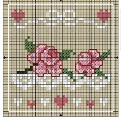 Lovely for a needlework small ~ Brenda Cross Stitch Boards, Cross Stitch Love, Cross Stitch Flowers, Cross Stitch Designs, Cross Stitch Patterns, Cross Stitching, Cross Stitch Embroidery, Embroidery Patterns, Needlework