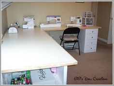 GiGi's Doll and Craft Creations: Custom Built Sewing Craft Counter