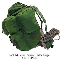 Pack Rabbit Pack Mule w/Tactical Tailor MALICE