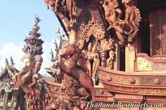 Sanctuary of Truth, #Pattaya - http://thailand-besthotels.com/sanctuary-of-truth-pattaya/ - For the Best ‪#‎Hotels‬ & Resorts - We help you with your bookings