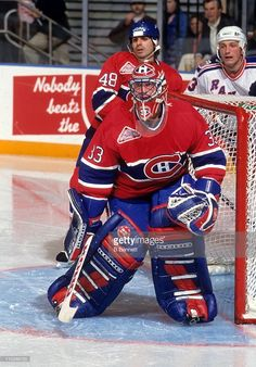 Hockey Goalie, Hockey Players, Ice Hockey, Montreal Canadiens, Patrick Roy, Saint Patrick, Goalie Mask, Cool Masks, National Hockey League