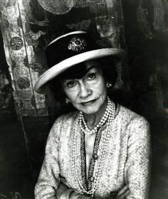 Coco Chanel....very brilliant....very french....very scary.....