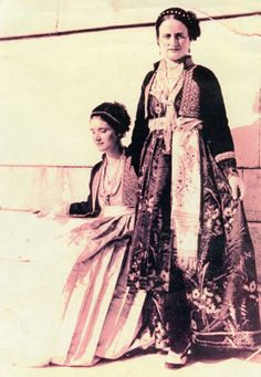 Βridal traditional costumes from Veria Macedonia Greece