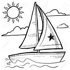 Risultati immagini per barca a vela disegno