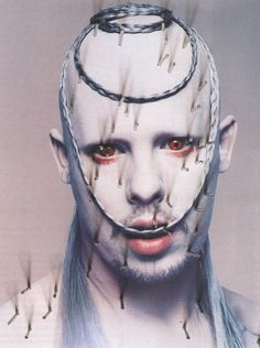 Alexander McQueen: Mc Killer Queen - The Face by Nick Knight, April 1998