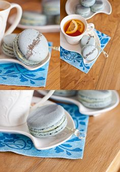 Earl grey macarons with lemon white chocolate ganache (GF!)
