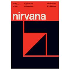 Like this font.  Graphic designer Mike Joyce started Swissted to fuse his love of punk rock and Swiss modernism. He reimagines vintage punk, hardcore, alternative and indie rock show fliers as International Typographic Style posters—but all of these shows really happened.