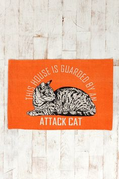 Attack Cat Rug at Urban Outfitters