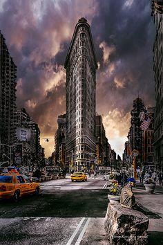 Endstimmung in New York by Dirk Kortus on 500px
