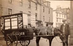 Horse transport in Rothesay (no date).