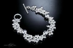 Alloy + 925 Sterling Silver + High Quality Polishing + Durable Colour Protector Toggle clasp  * Size: One length  * Measurements : 20cm  * Weight (g): 31 * ATBR022-1 * www.i-delight.com