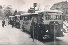 Buses, Trucks, (Ship) Engines KROMHOUT The Netherlands – Myn Transport Blog Busses, Old Pictures, Netherlands, Transportation, Tourism, Engineering, Ship, Black And White, History