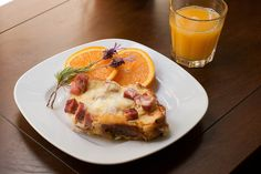Baked Croque Monsieur French Toast by Savour Fare, via Flickr