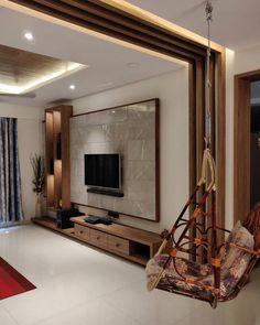Living Room Partition Design, Living Room Tv Unit Designs, Ceiling Design Living Room, Room Partition Designs, Home Room Design, Living Room Interior, Tv Wall Unit Designs, Bedroom Tv Unit Design, Tv Unit Bedroom