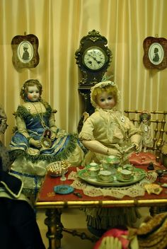 Galina Zaharova art dolls: Puppet Museum in Paris. Музей кукол в Париже ( (Musée de la Poupée)