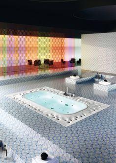 Modern Spa Bathtub With Circulating Overflowed Water Features U2013 Arima  Bathtub Great Ideas