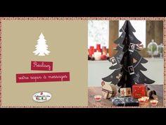 Tuto vidéo : réaliser un sapin de Noël à messages