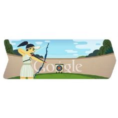 Today Google Doodle Olympic games London 2012