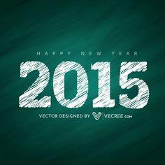 2015 Card Design Free Vector #2015 #vecree #vecree.com