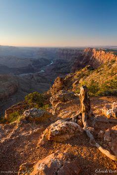 Desert View viewpoint, Grand Canyon NP, Arizona, USA