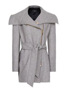 MANGO - Maxi collar coat