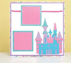 Cricut Project Center - Princess Castle Layout Pirates & Mermaids cartridge