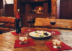 Keep warm by the fire at these Cape Town restaurants. #travel #eatout #restaurants #capetown