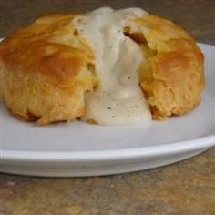Mom's Country Gravy  gravy 3/4c flour, 1tbsp pepper, 1tsp salt, 8tbsp butter (cubed), 4c milk